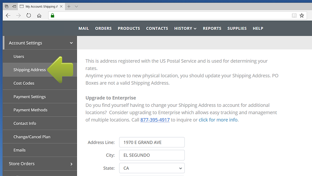 how to change your address on paypal