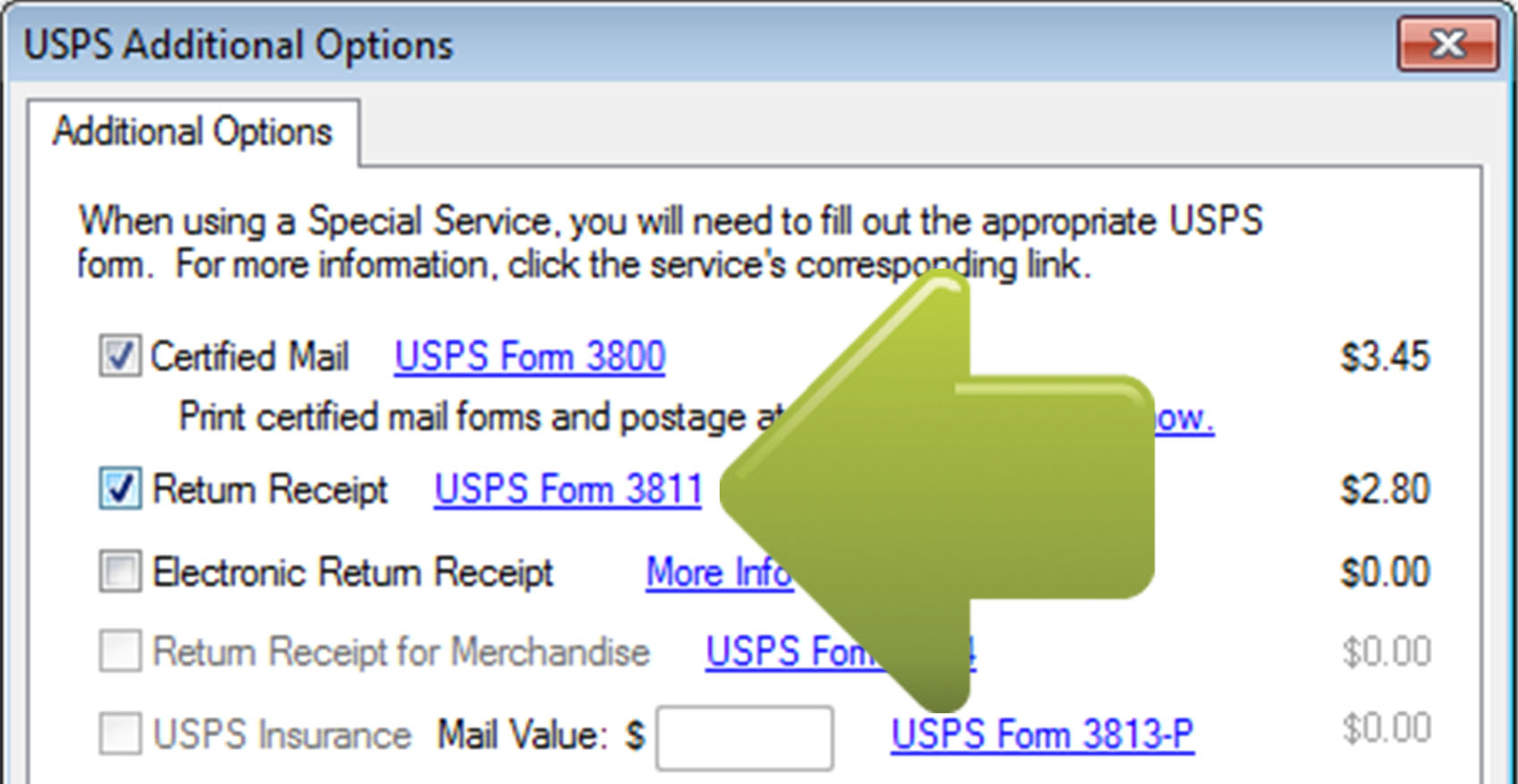 how to prepare certified mail without our certified envelopes and labels