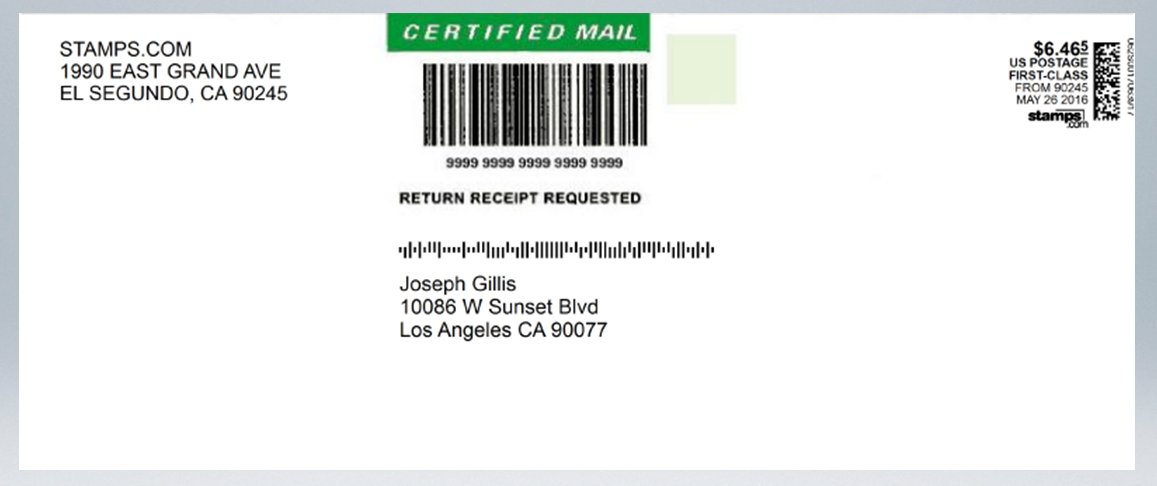 How to Prepare Certified Mail with our Certified Envelopes and Labels