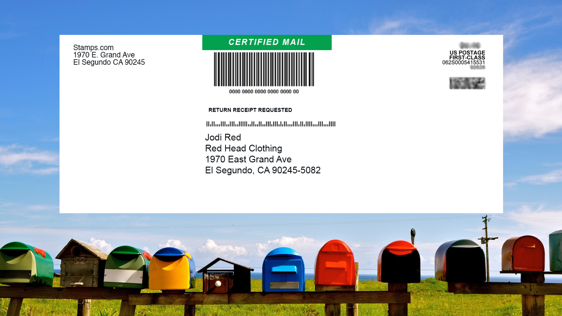 you have prepared certified mail with stampscom without filling out any forms by hand or going to the post office simply hand your certified mail envelope