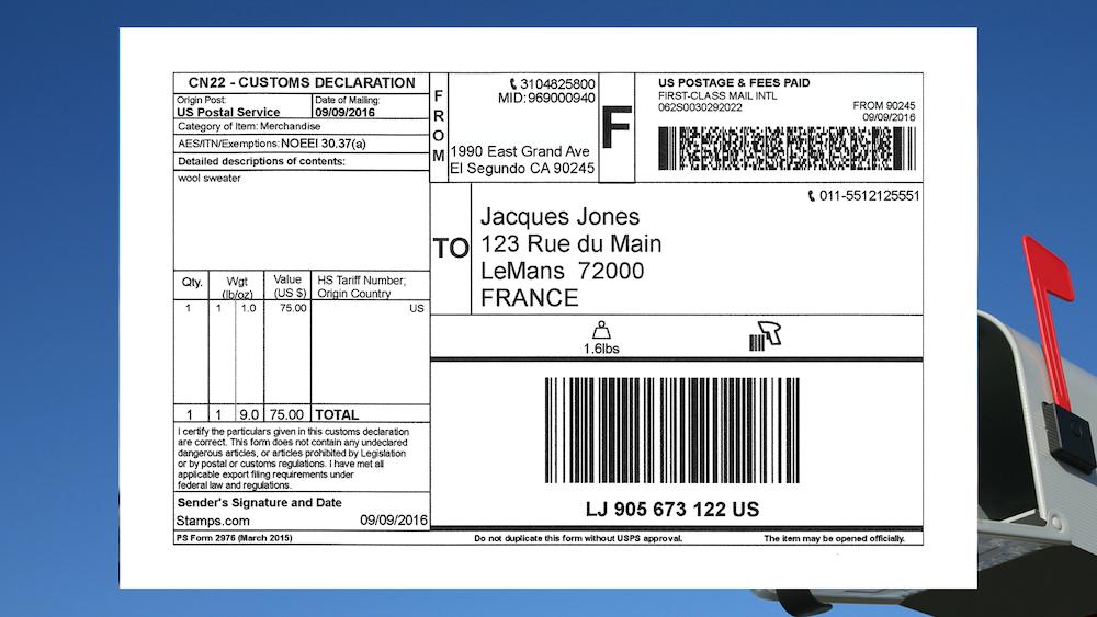 First Class Mail International Service Changes