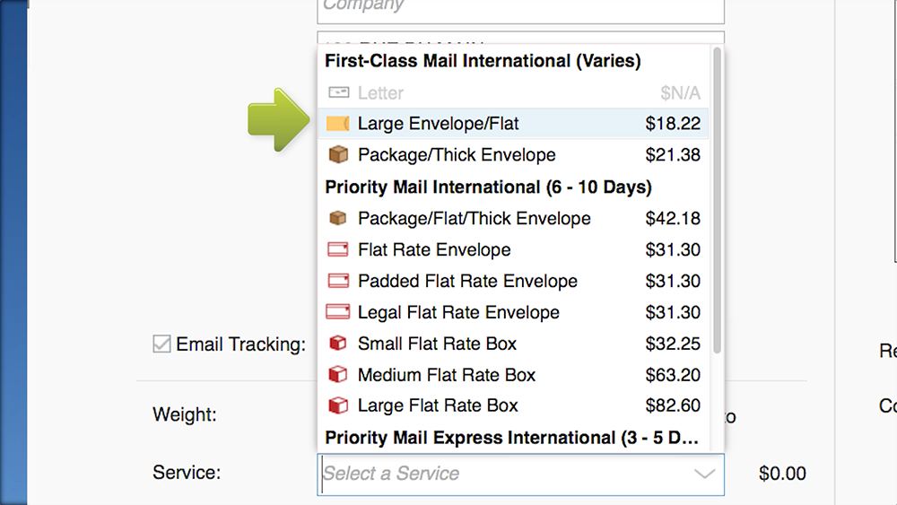 How to Ship an International Package