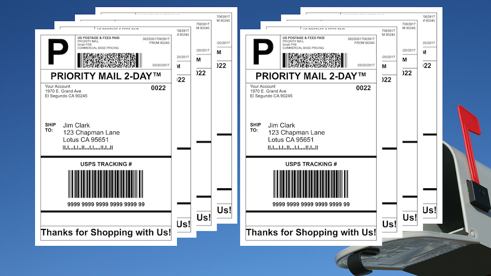 how to print a return shipping label on ebay