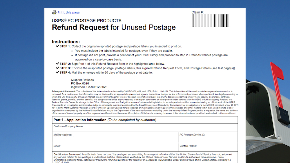 How to Refund Stamps Us Postal Application Form on post office application, bank application, police application, immigration application, fishing buddy application, in person application, retail application, track your application, government application, fedex application,