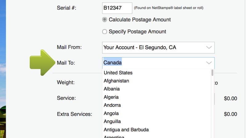 if you think your mailpiece may weigh more than one ounce place it on your digital postal scale and select weigh