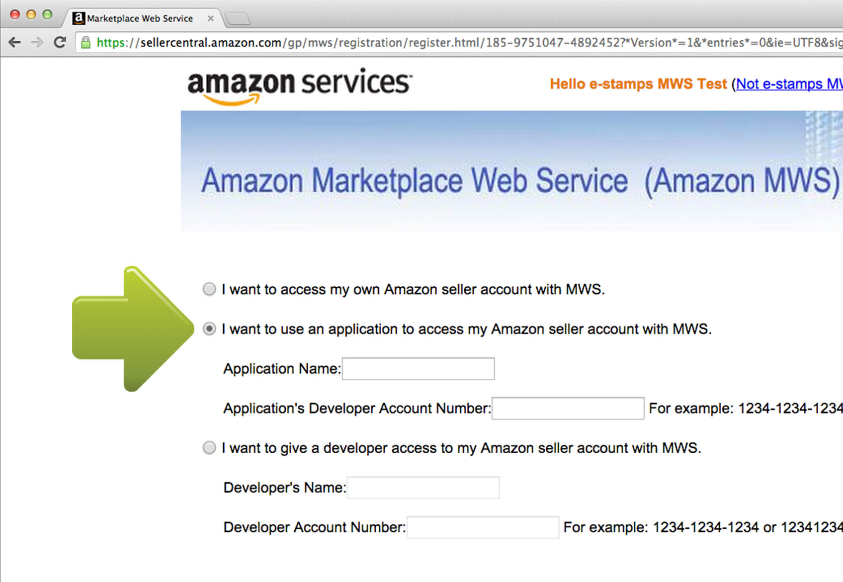 amazon seller account services