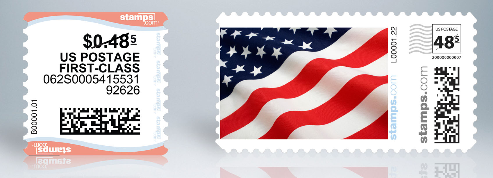 why can't i print stamps on plain paper?
