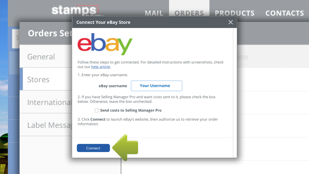 How To Connect To Ebay