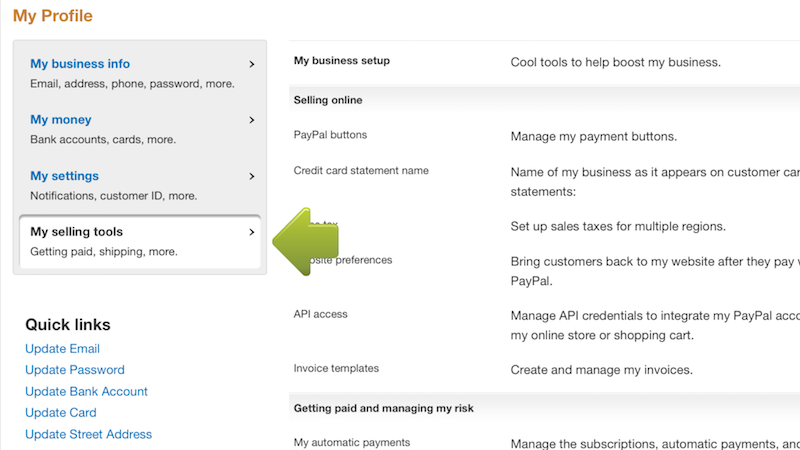 How To Connect To PayPal - Create an invoice on paypal hallmark store online