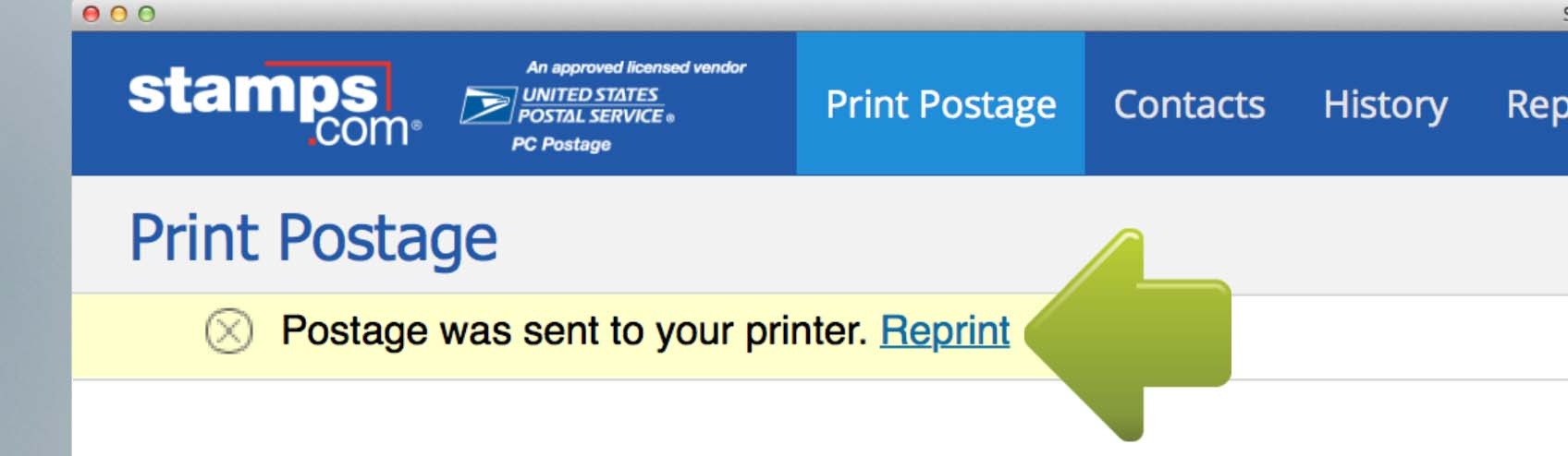 How to print envelopes with postage