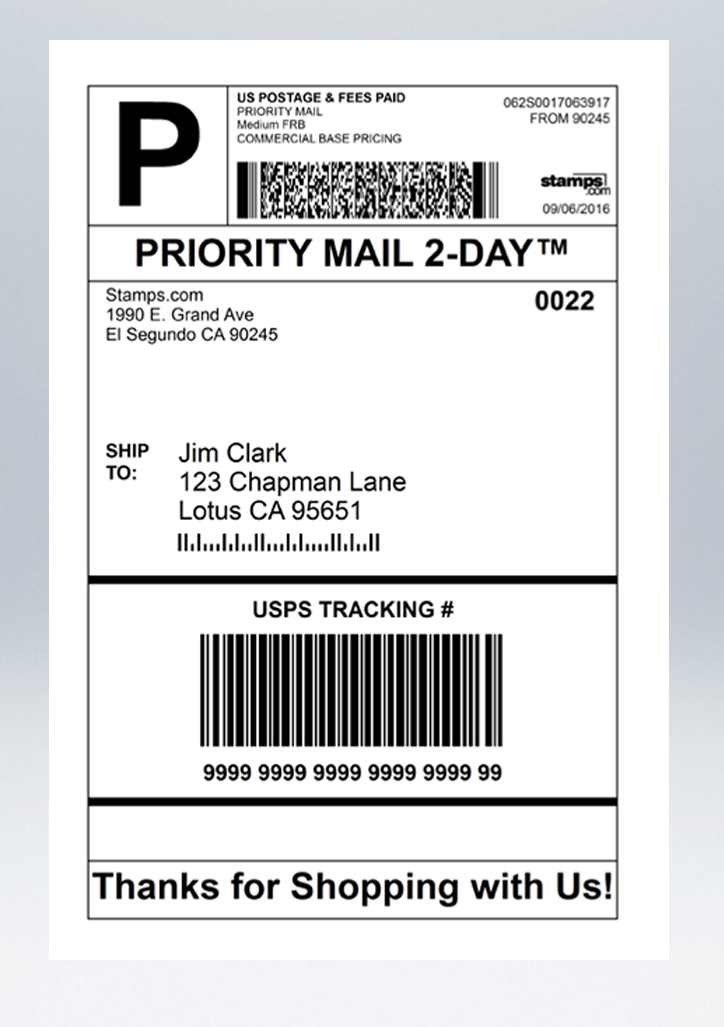 It's just a photo of Trust Print Shipping Label Free