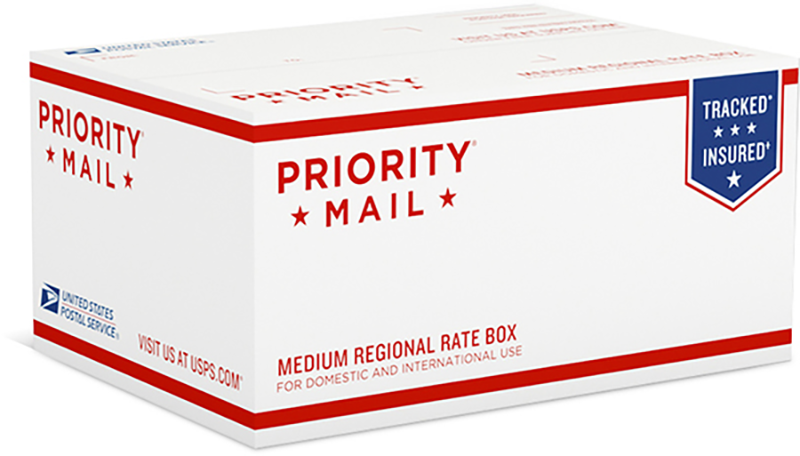 USPS Priority Mail Regional Rate Boxes