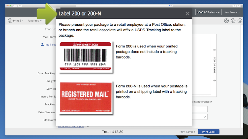 How to Prepare Registered Mail