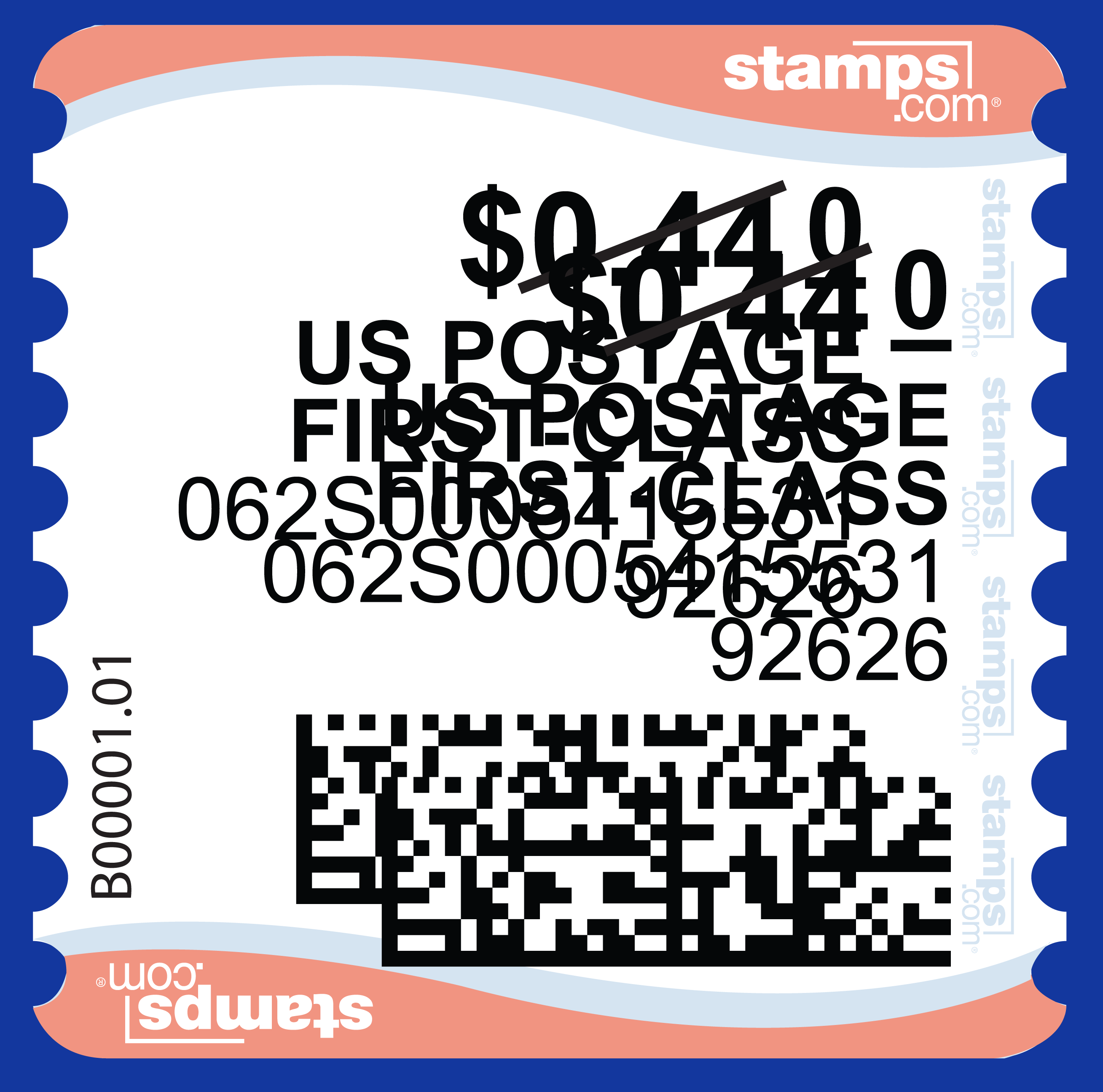 image relating to Printable Postage Stamps referred to as How toward Refund Postage