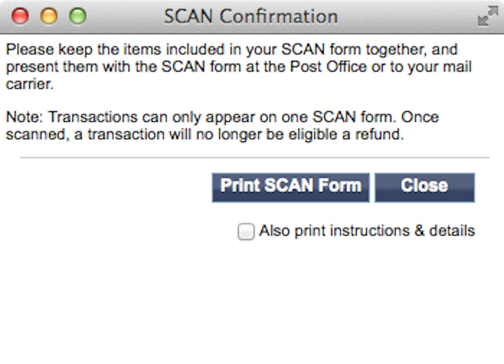 How to Prepare a SCAN Form PC Software Legacy
