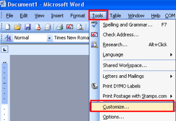 Troubleshooting the Stamps com Microsoft Word Plug-in