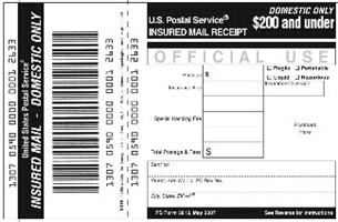 usps registered mail insurance