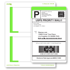 Stampscom X Shipping Label SDC - Shipping slip template