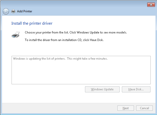 How to Install a Reference Driver (LaserJet Printers)