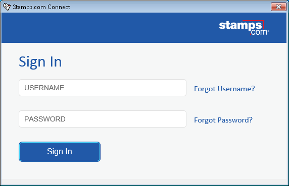 How to Log in to Stamps com Connect